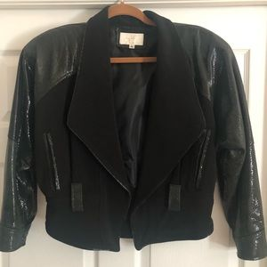 CACHE GENUINE LEATHER JACKET SZ S 🖤🖤